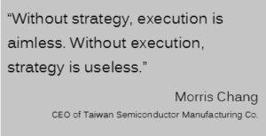 Morris Chang Strategy